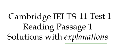 IELTS Reading: Cambridge 11 Test 1 Reading Passage 1; Crop-growing skyscrapers; best solutions with explanations