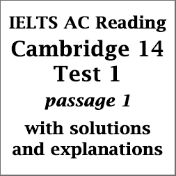IELTS Academic Reading: Cambridge 14, Reading Test 1: Passage 1; The Importance of Children's Play; with top solutions and detailed explanations