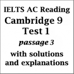 IELTS Academic Reading: Cambridge 9, Test 1: Reading Passage 3; The history of the tortoise; with best solutions and detailed explanations