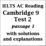 IELTS Academic Reading: Cambridge 9, Test 2: Reading Passage 1; Passage without title (about hearing problems); with best solutions and detailed explanations