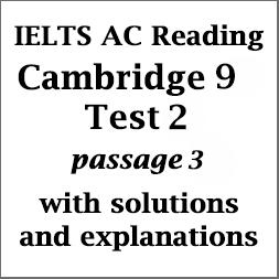 IELTS Academic Reading: Cambridge 9, Test 2: Reading Passage