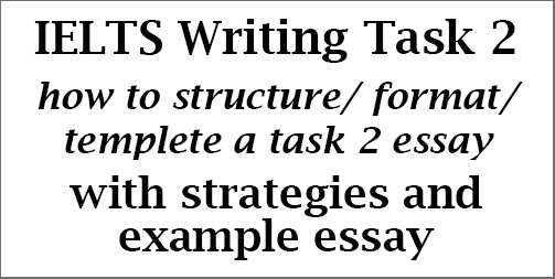 IELTS Writing Task 2: how to use structure/templete/format in an essay; with explanations and example agree-disagree essay on nuclear technology