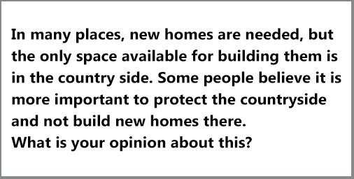 IELTS AC & GT; Writing Task 2: opinion essay on urbanization in countryside/ problem of housing: ; with discussion, tips and a great sample answer