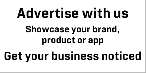 Advertize with us and showcase your brand, product or app