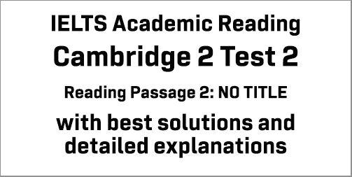 IELTS Academic Reading: Cambridge 2 Test 2 Reading passage 2; text about language barrier; with best solutions and best explanations