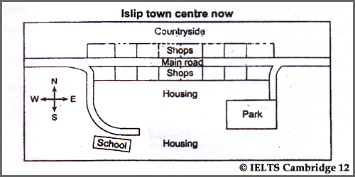 Ielts ac writing task 1 diagram cambridge 12 test 6 two maps of ielts ac writing task 1 diagram cambridge 12 test 6 two maps of islip ccuart Image collections
