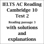IELTS Academic Reading: Cambridge 10 Test 2; Reading passage 3; Museums of fine art and their public; with best solutions and explanations